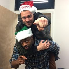 """""""The guys are ready for Christmas! Chicago Pd Halstead, Nbc Chicago Pd, Chicago Shows, Chicago Med, Chicago Style, Chicago Fire, Chicago Bears, Chicago Crossover, Patrick John Flueger"""