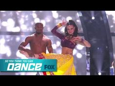 ▶ Bridget & All-Star Brandon: Top 10 Perform   SO YOU THINK YOU CAN DANCE   FOX BROADCASTING - YouTube - WOW!