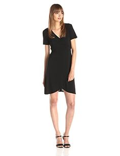 Star Vixen Women's Short Sleeve Ballerina Wrap Dress - http://dressfitme.com/star-vixen-womens-short-sleeve-ballerina-wrap-dress/