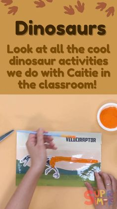 Join Caitie in the classroom for a super fun dinosaur episode of Caitie's Classroom! Songs, crafts, games and a field trip! Check out the show notes for programming tips and links. Dinosaur Crafts Kids, Dinosaur Activities, Toddler Activities, Toddler Snacks, Toddler Preschool, Toddler Crafts, Crafts For Kids, Baby Led Weaning, Teaching Kids