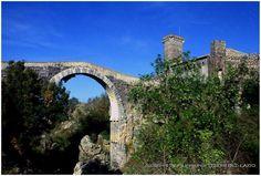 Ponti romani..Vulci (ponte dell'Abbadia)