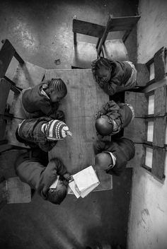 Joe Saade for National Geographic Photo contest, 2013 - 'Sleepy Heads', Nairobi.