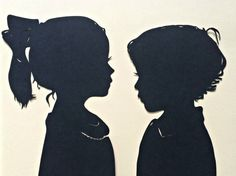 for JACKSON WESLEY Hand Cut Custom Silhouette Portraits : by SilhouettesbyElle
