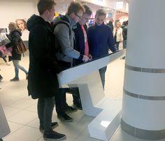 Vega wayfinder infokiosks just hit the Esbjerg shopping center!