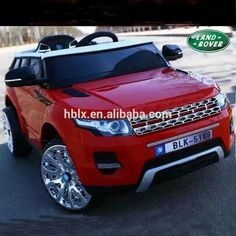 red Land rover ride on car for children Kids Ride On Toys, Kids Toys, Electric Car, Range Rover, Remote, App, Children, Check, Childhood Toys