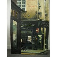 Paris Street Scene 1 for R2,000.00