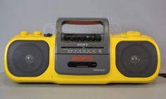Sony Model CFS-905 Radio Cassette-Corder