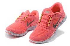 Nike Free Run 3 Womens Neon Pink