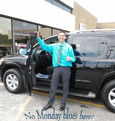 Thumbs up for the Nissan Armada!