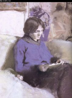 Edouard Vuillard Reading