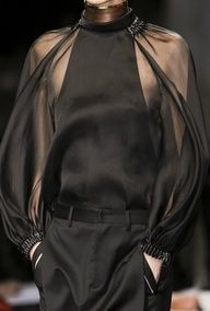 Givenchy- Love this top super chic!