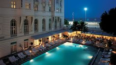 The Copacabana Palace in Rio de Janeiro, Brazil, is one of South America's most famous hotels. Directly on Copacabana beach, the hotel's style is more legendary than the tune that stole its moniker.