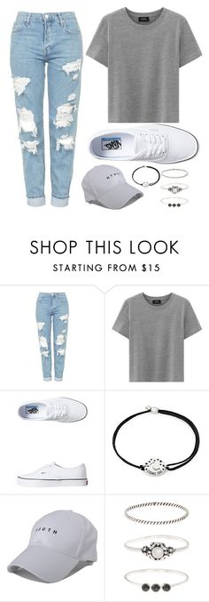 """""""Basic"""" by ac-4am on Polyvore featuring Topshop, Vans, Alex and Ani and Accessorize"""