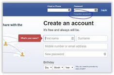 Facebook Instant Login | How to Login Instantly to your Facebook Account: Block Me On Facebook, Old Facebook, Account Facebook, Hack Facebook, Facebook Business, Facebook Marketing, Reset My Password, Admin Password, Forgot My Password