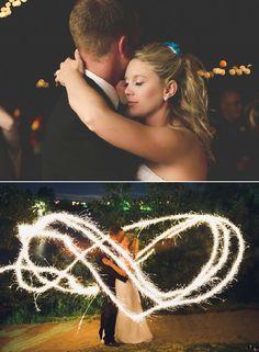 Wedding Sparkler Pictures
