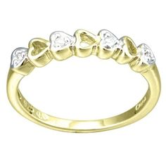10k Gold on Sterling Silver ring