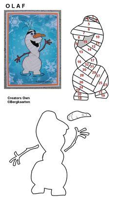 Irisvouwen: Olaf Iris Folding Templates, Iris Paper Folding, Iris Folding Pattern, Quilt Square Patterns, Paper Pieced Quilt Patterns, Paper Piecing, Crochet Patterns, Paper Cards, Folded Cards