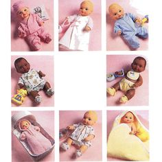 1990s Baby Doll Layette Pattern McCalls 6276 by JFerrariDesigns, $15.00