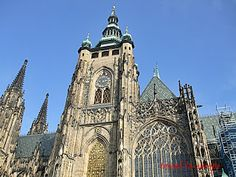 Travel in Europe: CATHEDRAL OF ST VITUS PRAGUE