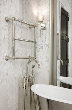 WaterWorks bathtub Waterworks Bathroom, Bathroom Spa, White Bathroom, Bathroom Ideas, City Bathrooms, Dream Bathrooms, Bathroom Cabinetry, Contemporary Bathroom Designs, Classic Bathroom