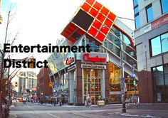 Formally known as the Garment District, Toronto's Entertainment District is concentrated around King Street West between University Avenue and Spadina Avenue. It is home to theatres, performing arts centres, nightclubs, and an array of cultural attractions. http://torontoed.com/