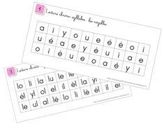 Les lectures chrono - Kaly et ses petits secrets d'école Computer Keyboard, Alphabet, Coding, Learning, Montessori, Delphine, Apc, School Ideas, Homeschool