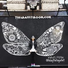 #whatliftsyou dragonfly wings up in NYC