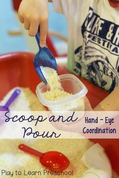 Scoop and Pour Coord