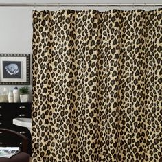 Leopard Shower Curtain 3500