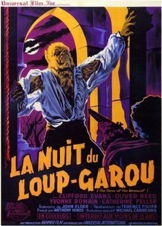The Curse of the Werewolf / 吸血狼男 (1961) French poster