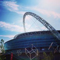 Wembley Stadium Wembley Stadium, Fa Cup, Sydney Harbour Bridge, Love Photography, Travel, Viajes, Destinations, Traveling, Trips