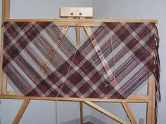 Projects woven on the 5' Adjustable Square Loom
