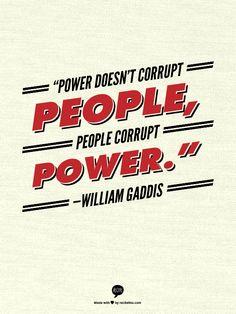 william gaddis quotes