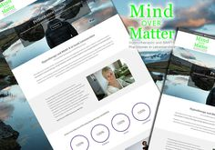 """The New Website for Mind Over Matter Hypnotherapy in Leicestershire is now """"Live"""" at http://leicestershirehypnotherapist.co.uk/"""