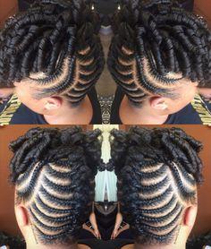 Natural Hair Braids, Pelo Natural, Natural Hair Updo, Natural Hair Styles, Cornrows, Twisted Hair, Flat Twist Updo, Braided Hairstyles For Black Women, Diy Hairstyles