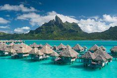 Best Island Paradise: The St. Regis Bora Bora Resort... Holy cow... Repinned @Camille Blais Styles
