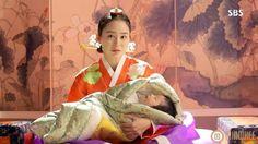 Jang Ok Jung, Jung In, Kim Tae Hee, Yoo Ah In, Korean Hanbok, Queen, Hanfu, Kdrama, Painting