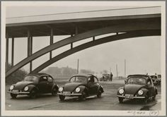 Representatives of the foreign press get to know the German KdF-Car and the Reich highways, 1939 #vw_vintage_morat