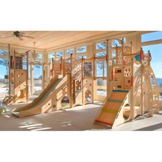 I think I might need this. Right now. Indoor playground? Yes please.