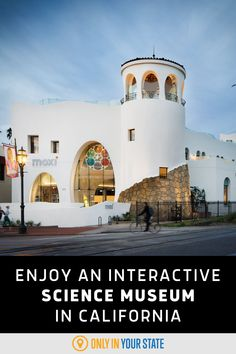 Kids and adults alike will have fun at this unique, family-friendly science, technology, and art museum in Southern California. Enjoy interactive, hands-on exhibits if you take this fun day trip. Southern California Attractions, Downtown Santa Barbara, Best Bucket List, Digital Dj, Famous Beaches, Central California, Hidden Beach, Bucket List Destinations, Science Museum