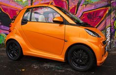 #car #smart SMART FORTWO CABRIO BRABUS NIGHTORANGE / photo: Mateusz Tyszkiewicz / rostyleandlife.com