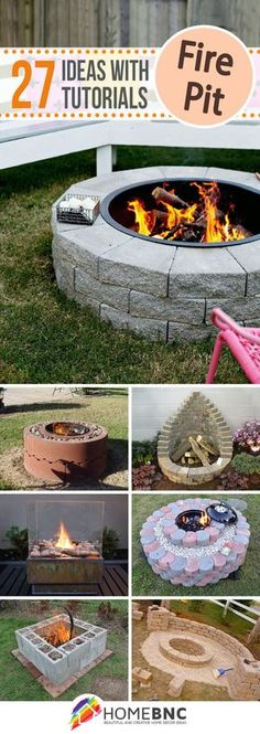 DIY Firepit Projects Follow FOSTERGINGER@ PINTEREST for more pins like this. NO PIN LIMITS. Thanks to my 22,000 Followers. Follow me on INSTAGRAM @ ART_TEXAS