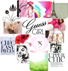 """""""Guess Girl Bliis!"""" by deebenzdee on Polyvore"""