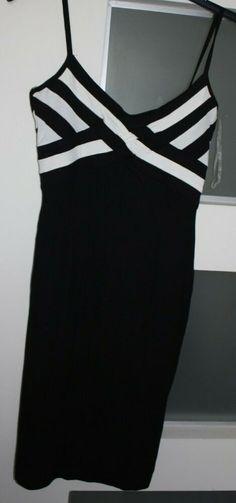 7b588d3a3655 Jane Norman black/white dress size 12 #fashion #clothing #shoes #accessories