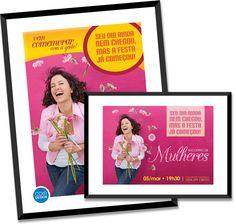 Homenagem ao Dia Internacional da #Mulher • by #comdesign