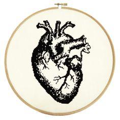 Anatomical Heart Pattern