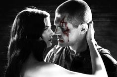 Still of Josh Brolin and Eva Green in Sin City: A Dame to Kill For (2014) Characters: Dwight McCarthy, Ava Lord  #movie #movies #watch #films #film #online #sincity #sincity2 #sincity2014