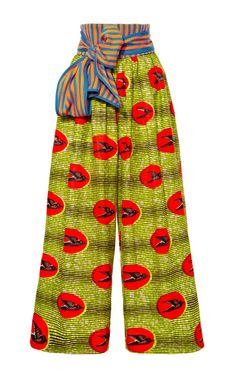 Shop M'O Exclusive: Loto Waxed Cotton Pants by Stella Jean Now Available on Moda Operandi. #Africanfashion #AfricanClothing #Africanprints #Ethnicprints #Africangirls #africanTradition #BeautifulAfricanGirls #AfricanStyle #AfricanBeads #Gele #Kente #Ankara #Nigerianfashion #Ghanaianfashion #Kenyanfashion #Burundifashion #senegalesefashion #Swahilifashion DK