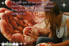Resultado de imagen para isaias 49:16