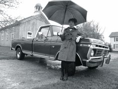 '76 mint condition Ford F-100. Radically beautiful Mary Poppins. Very cold and rainy outside!!!